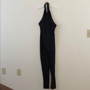 Fashion nova halter jumpsuit
